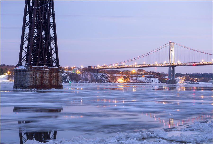 Ice on the Hudson | Highland, NY